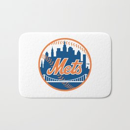 New Yorks Mets Bath Mat