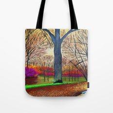 Wonderful colors of fall Tote Bag