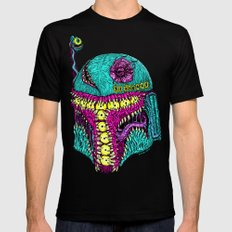 Monster Fett Mens Fitted Tee MEDIUM Black