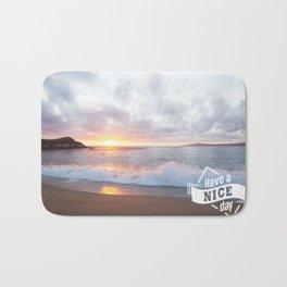 Calming beach veiw Bath Mat