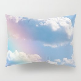 Sunny Rainbow Sky Dream Pillow Sham