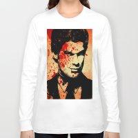 dexter Long Sleeve T-shirts featuring Dexter by 2b2dornot2b