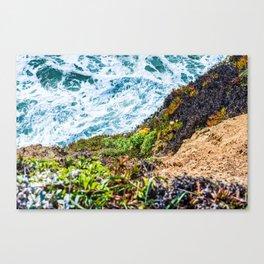 Beach 50-50 Canvas Print