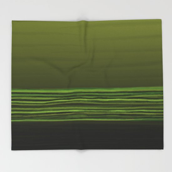 Horizon Olive Green Throw Blanket By Beatricemorello Society40 Best Olive Green Throw Blanket