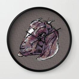 A Goat's Head Wall Clock