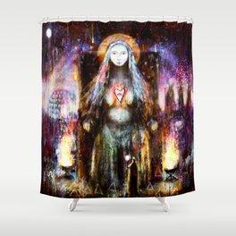 Vanadis - Goddess Freyja Shower Curtain
