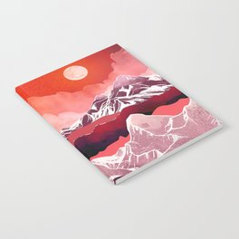 Scarlet Glow Notebook