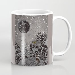 'Twas a Moonlit Winter Night Coffee Mug