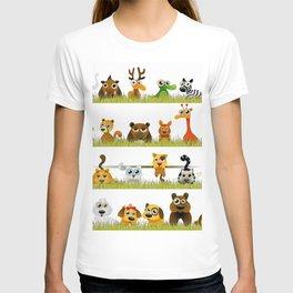 Adorable Zoo animals T-shirt