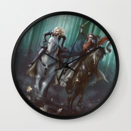 To Mount Weather Wall Clock