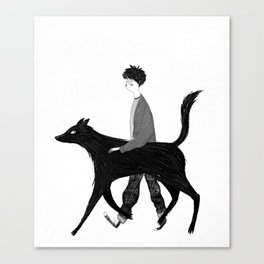 Harry and Sirius Canvas Print