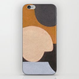 Visiting Henry Moore iPhone Skin