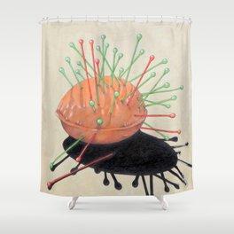 pincushion n. 4 Shower Curtain