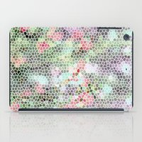 crystals iPad Cases featuring Crystals by RoxEmme