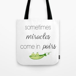 Two Peas - Twins Tote Bag