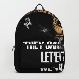 Funny Death Metal Saying Backpack