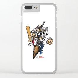 Pal-Icecream Clear iPhone Case