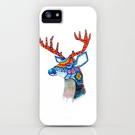 Venado Huichol iPhone Case