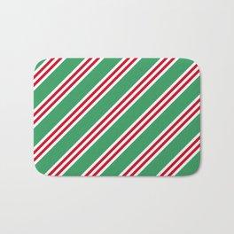Christmas Stripes Large Small Small Bath Mat