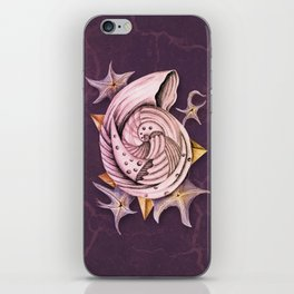 Dystopian Conch - Lavender iPhone Skin