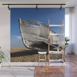 Beached Boat Wall Mural
