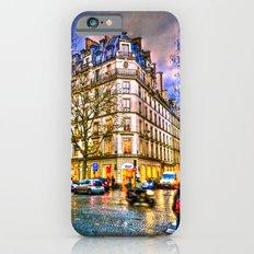 Rainy evening in Paris, France iPhone 6s Slim Case