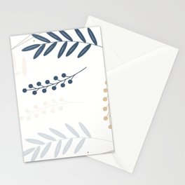 Leaves and flowers: Spring Stationery Cards