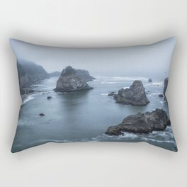 Between Dawn and Sunrise at Arch Rock Picnic Area, No. 2 Rectangular Pillow