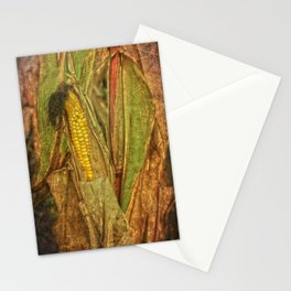 The last ear of corn Stationery Cards
