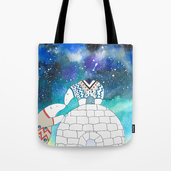Love Under The Stars Tote Bag