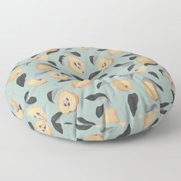 Quince Fruit  Floor Pillow