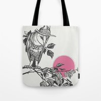 hunter x hunter Tote Bags featuring Hunter by Zeke Tucker