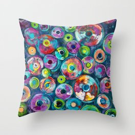 Jars of Knowledge Throw Pillow