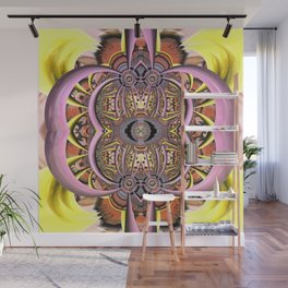 Artistic adventures, fractal abstract Wall Mural