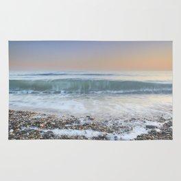 """""""Looking at the waves III"""" Sea dreams Rug"""