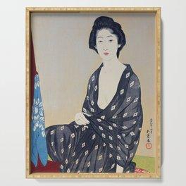 Woman in a Summer Garment by Hashiguchi Goyo, 1920 Serving Tray