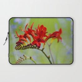 Lucifer Flowers Laptop Sleeve