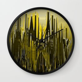 Gothic Avenue II / Cathedral Wall Clock