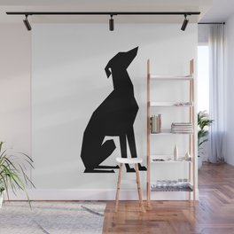 Italian Greyhound Silhouette Wall Mural