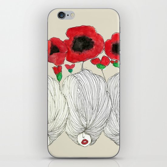 Poppy Girls iPhone & iPod Skin