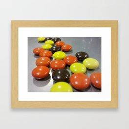 Candy Spread Framed Art Print