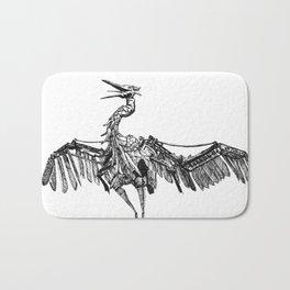 a marvelous creature Bath Mat