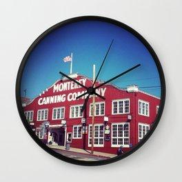 Monterey Bay Wall Clock