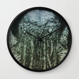 Cthulu lurks Wall Clock