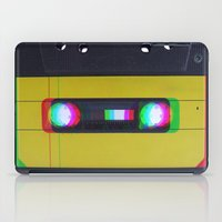 cassette iPad Cases featuring Cassette by Michal