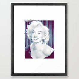 Monroe Swag Framed Art Print