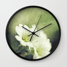 pretty in green. Wall Clock
