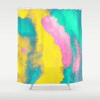 florida Shower Curtains featuring Florida by elena + stephann