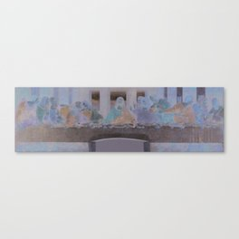 "Personal ""Ultima Cena"" Canvas Print"