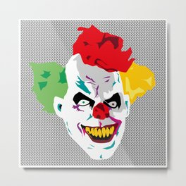 Google clown Metal Print